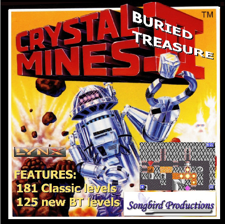Crystal Mines II: Buried Treasure - Box Front