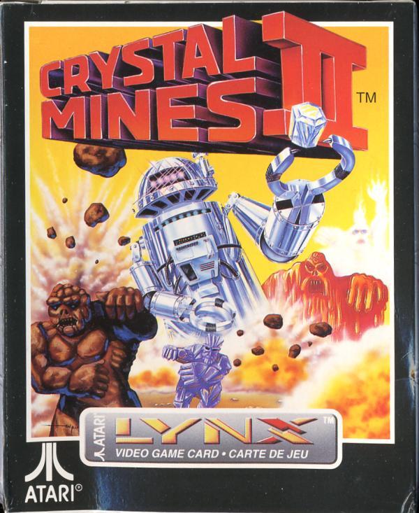 Crystal Mines II - Box Front