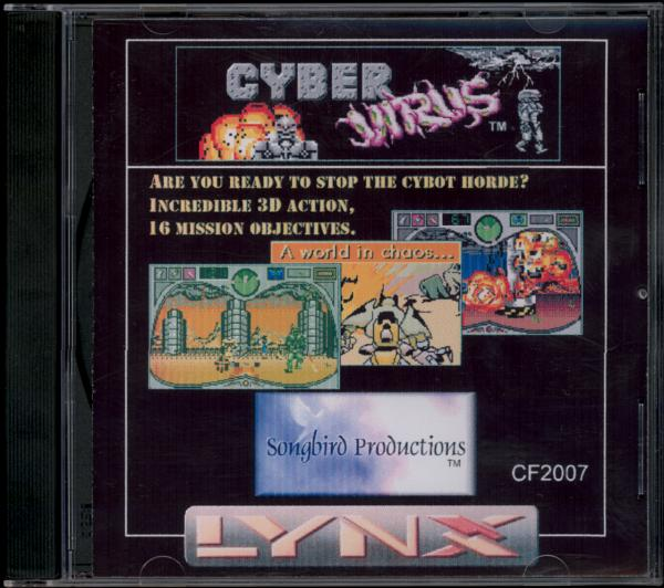 Cyber Virus - Box Front