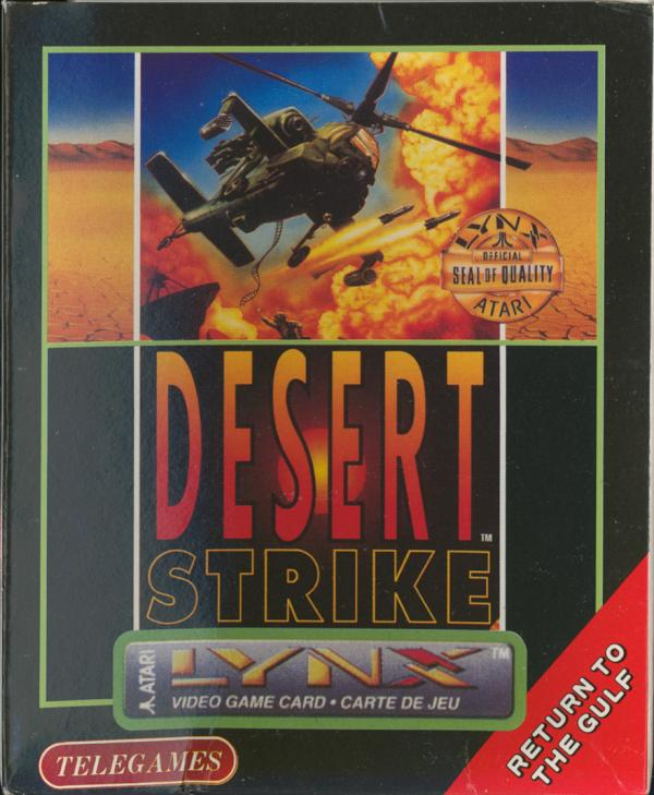 Desert Strike - Box Front