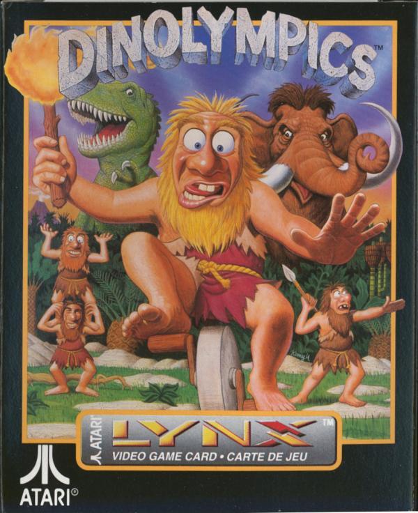 Dinolympics - Box Front