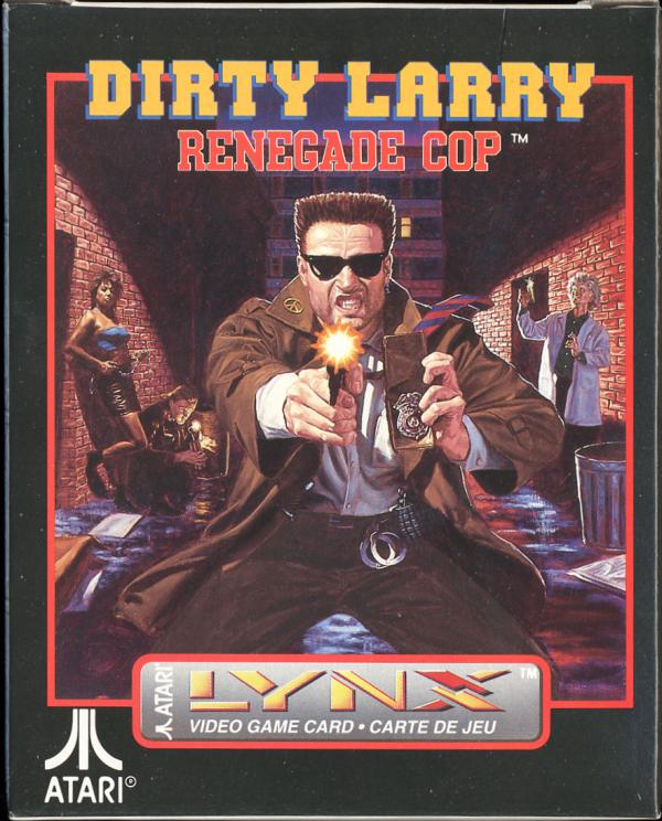 Dirty Larry: Renegade Cop - Box Front
