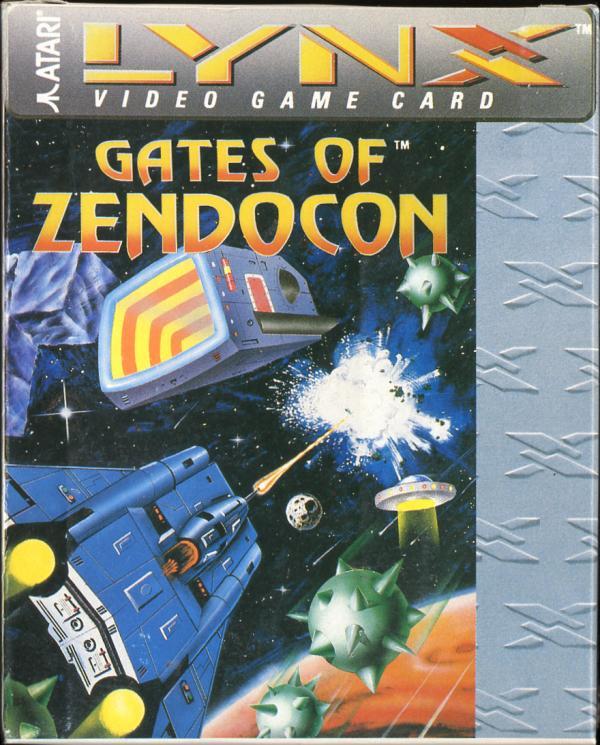 Gates of Zendocon - Box Front
