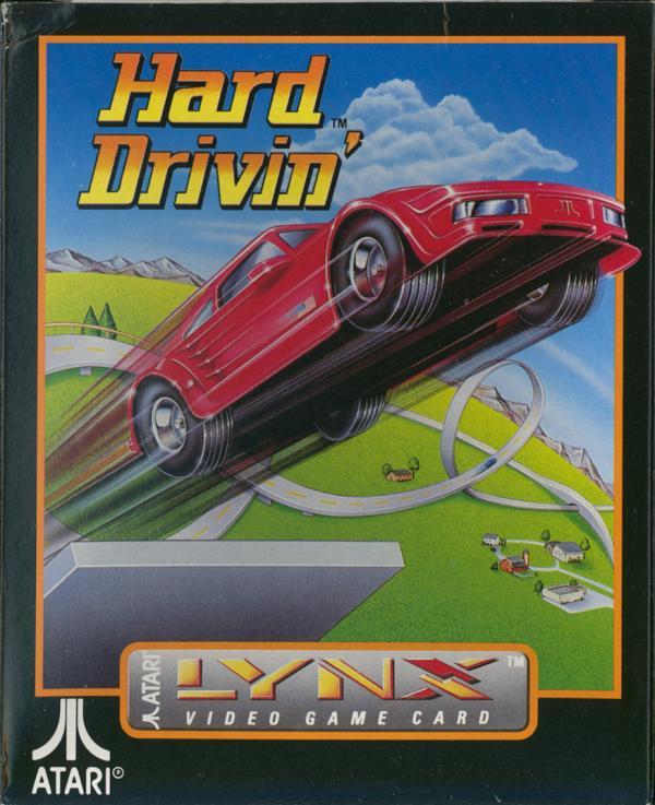 Hard Drivin' - Box Front