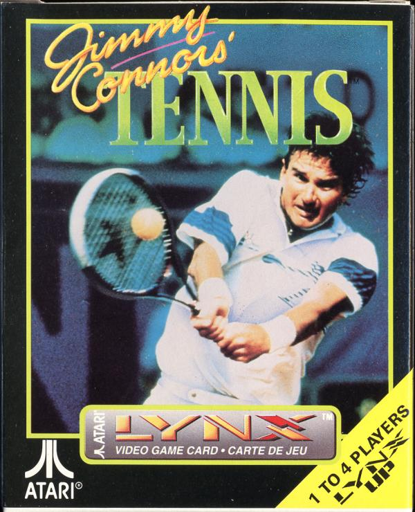 Jimmy Connors' Tennis - Box Front
