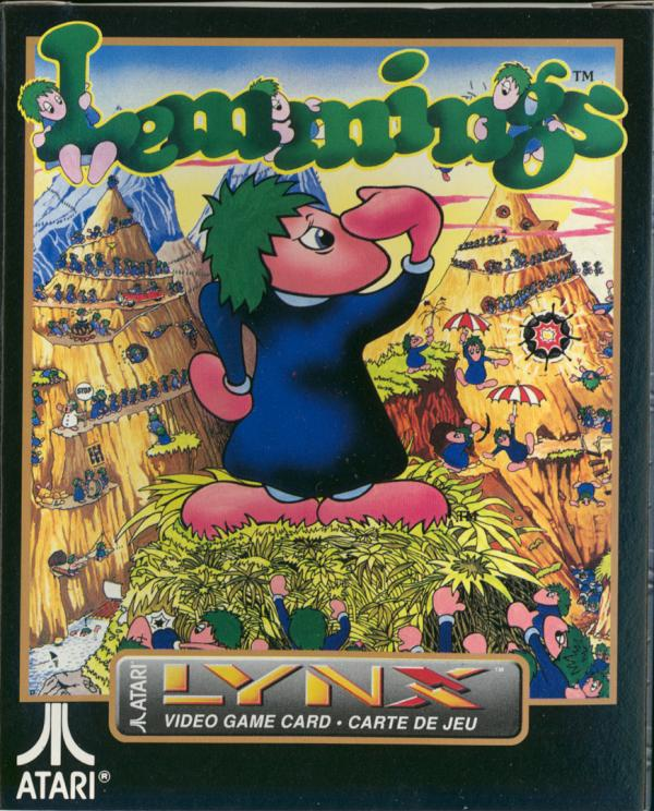 Lemmings - Box Front