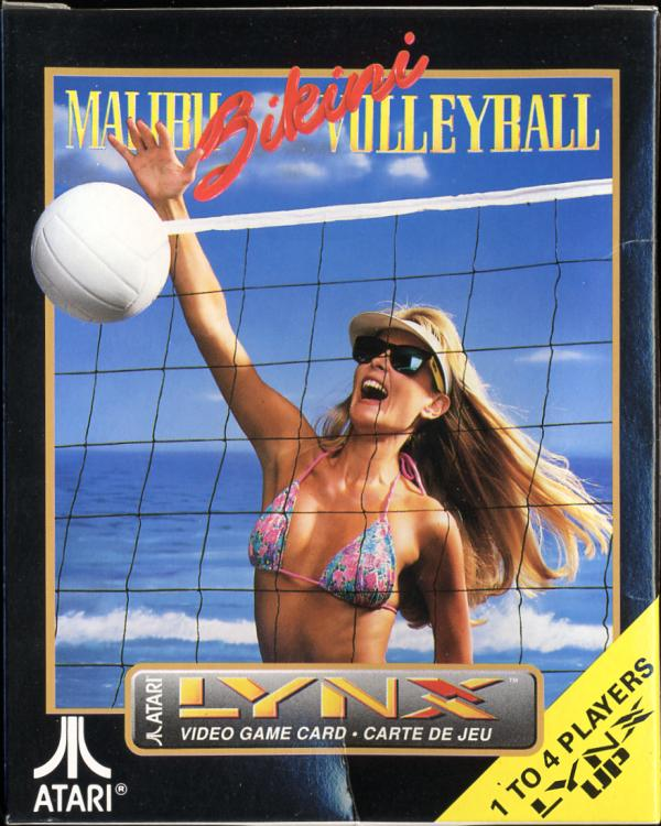 Malibu Bikini Volleyball - Box Front
