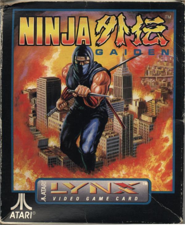 Ninja Gaiden - Box Front