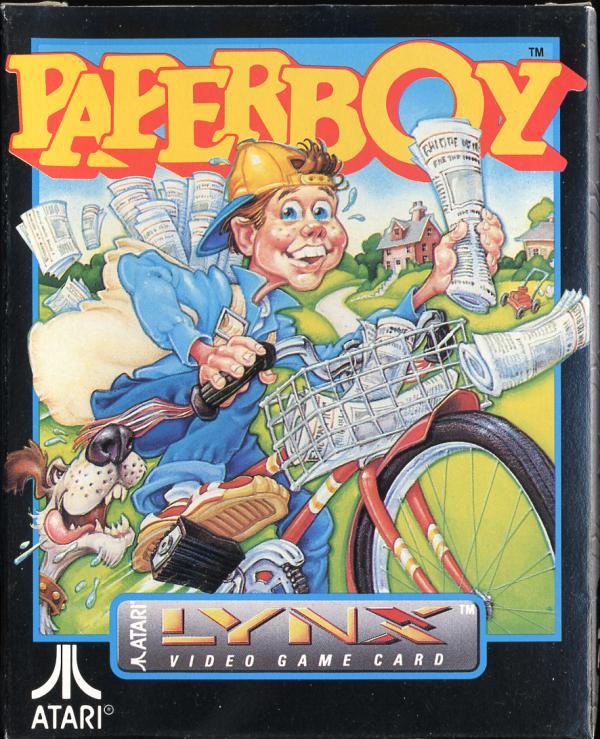 Paperboy - Box Front