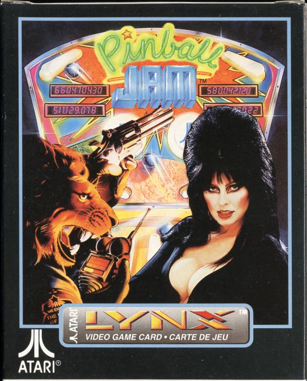 Pinball Jam - Box Front