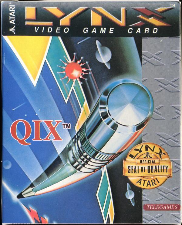 Qix - Box Front