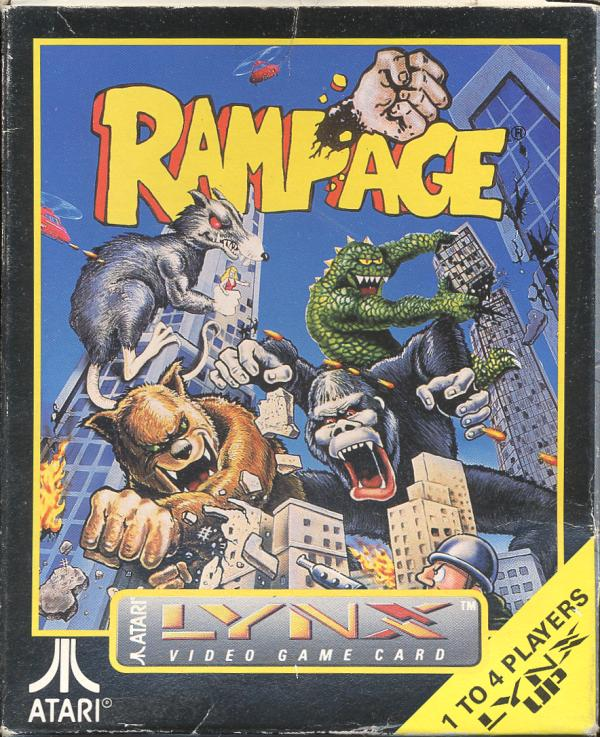 Rampage - Box Front