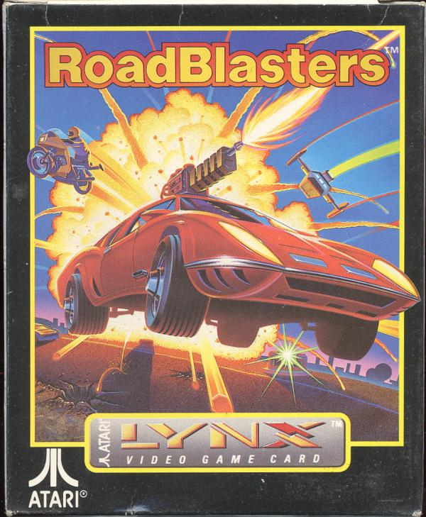 RoadBlasters - Box Front