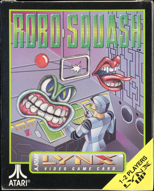 Robo-Squash - Box Front