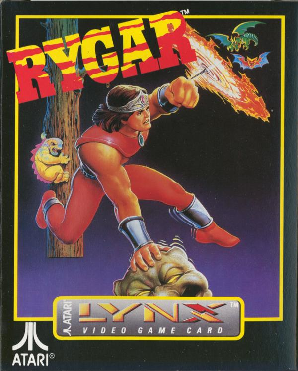 Rygar - Box Front