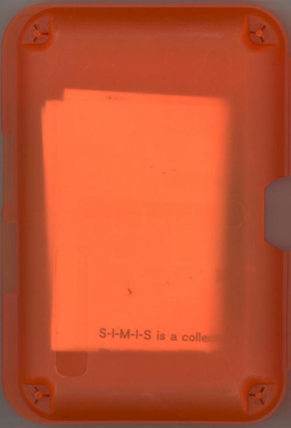 S.I.M.I.S. - Box Front
