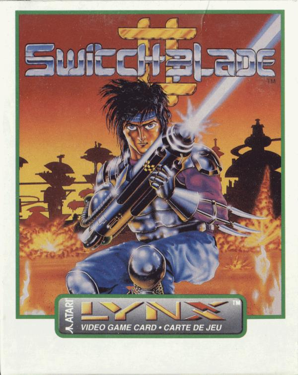 Switchblade II - Box Front