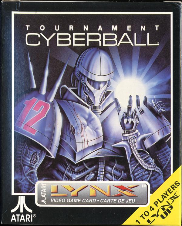 Tournament Cyberball - Box Front