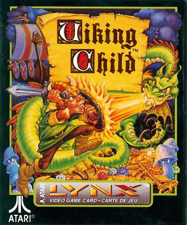 Viking Child - Box Front