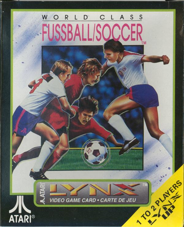 World Class Fussball/Soccer - Box Front