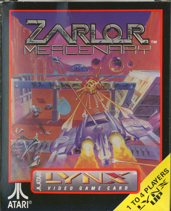 Zarlor Mercenary - Box Front