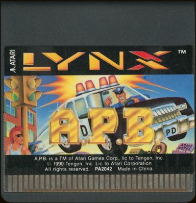 APB - Cartridge Scan