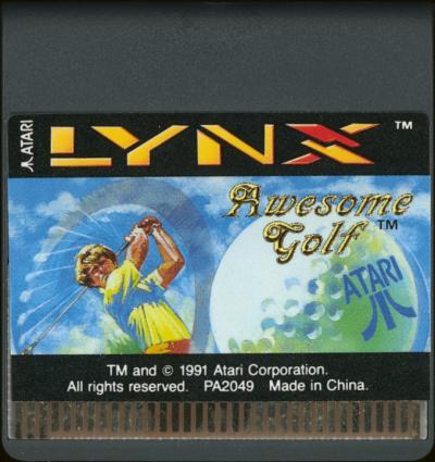 Awesome Golf - Cartridge Scan