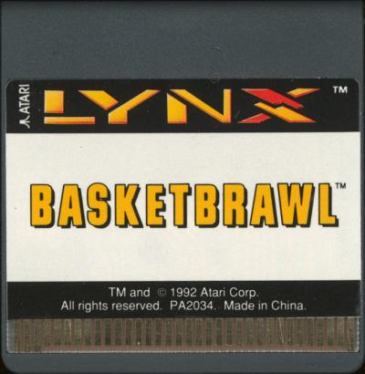 Basketbrawl - Cartridge Scan