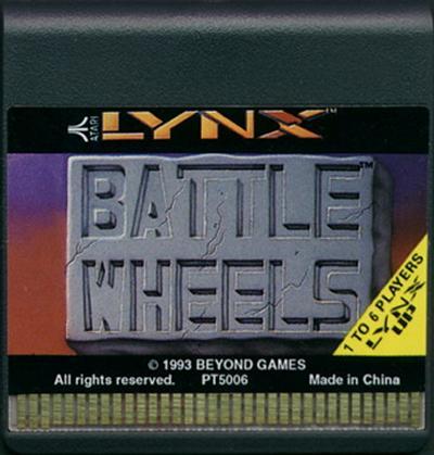 BattleWheels - Cartridge Scan