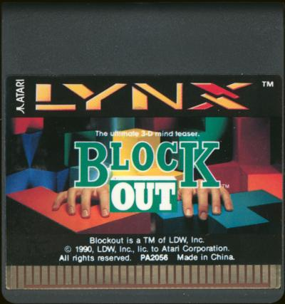 Block Out - Cartridge Scan