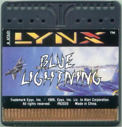 Blue Lightning - Cartridge Scan