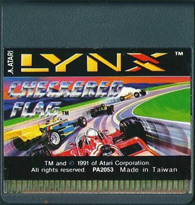 Checkered Flag - Cartridge Scan