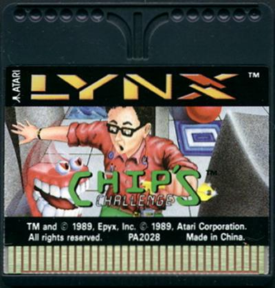 Chip's Challenge - Cartridge Scan