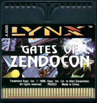 Gates of Zendocon - Cartridge Scan