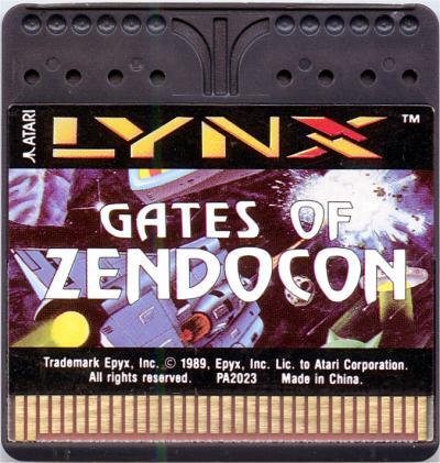 Gates of Zendocon - Cartridge Scan