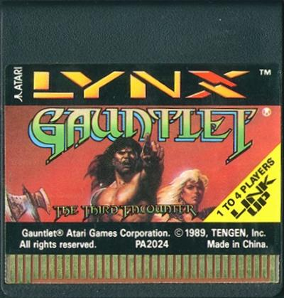 Gauntlet: The Third Encounter - Cartridge Scan