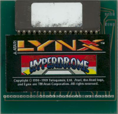 Hyperdrome - Cartridge Scan
