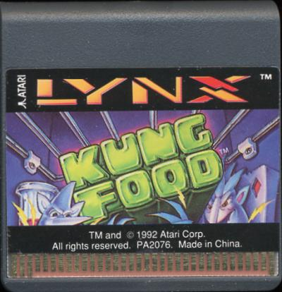 Kung Food - Cartridge Scan