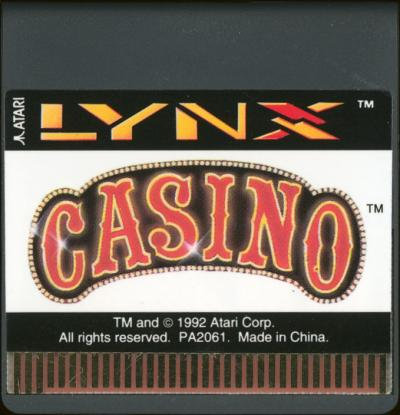 Lynx Casino - Cartridge Scan