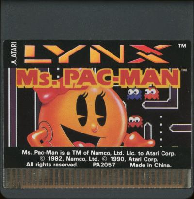 Ms. Pac-Man - Cartridge Scan