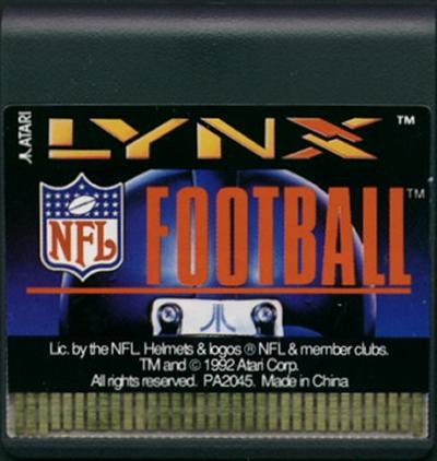 NFL Football - Cartridge Scan