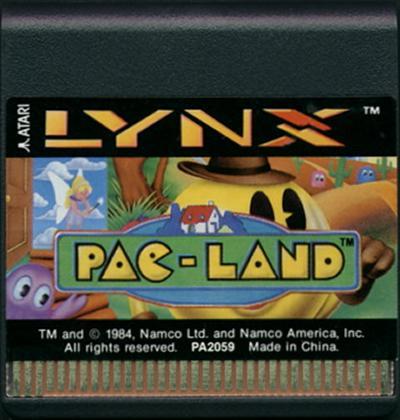 Pac-Land - Cartridge Scan