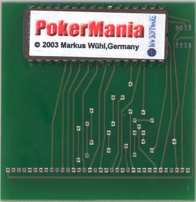 PokerMania - Cartridge Scan