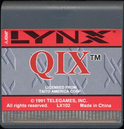 Qix - Cartridge Scan