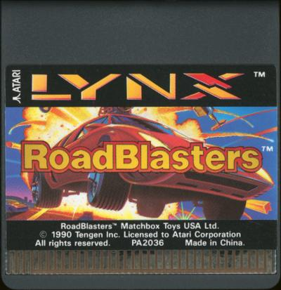 RoadBlasters - Cartridge Scan
