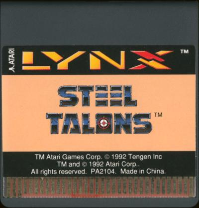 Steel Talons - Cartridge Scan