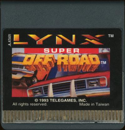 Super Off-Road - Cartridge Scan