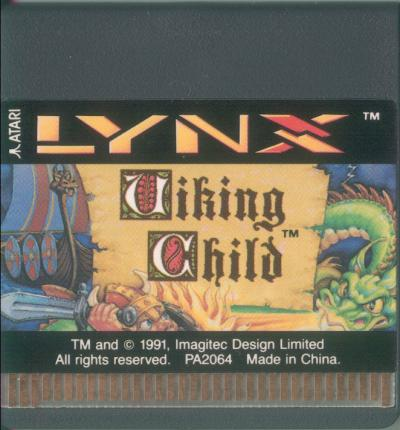 Viking Child - Cartridge Scan