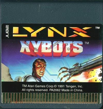 Xybots - Cartridge Scan