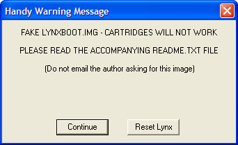 Atari Lynx Handy Emulator Tutorial